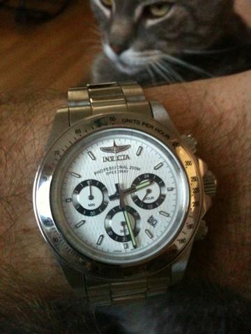 Invicta Speedway 9211 on bracelet | My Wrist Check